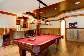 Provo pool table room size image 1